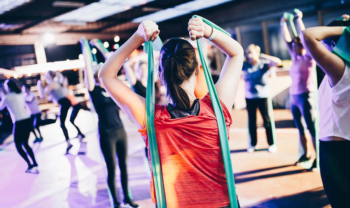 eventi fitness comunità